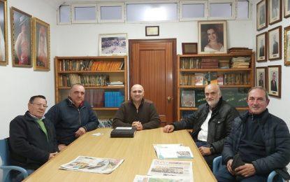 El concejal de Deportes conoce las necesidades y proyectos del Club de Caza y Pesca