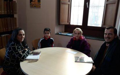 Cultura y el CEIP Santiago estudian vías de colaboración para la ejecución de actividades culturales