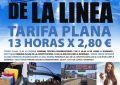 La delegación de Comercio y Mercados reparte  cinco mil folletos informativos  sobre la tarifa plana de aparcamiento