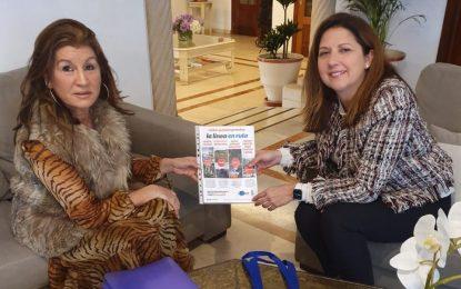 Atanet da a conocer la oferta turística linense al hotel Alborán