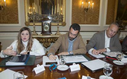 """La Diputación provincial destinará 475.000 euros del programa """"Dipuforma"""" para el desarrollo de acciones formativas dirigidas a desempleados de la ciudad"""