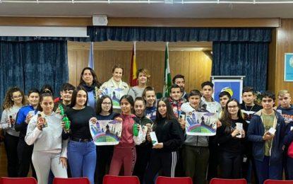 Zuleica Molina asiste en el instituto Antonio Machado a la entrega de premios del concurso 'Nuestra ciudad limpia' incluido en el Plan de Infancia y Familia