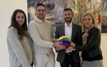 El director general de Diversidad y la subdelegada trabajan por los derechos del colectivo LGTBI en la comarca