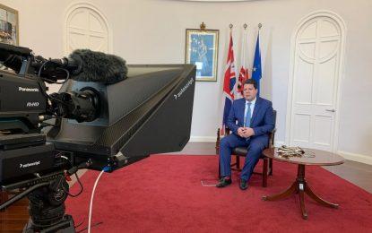 Picardo hace balance de los 47 años de pertenencia de Gibraltar a la UE e invita a mantener la confianza en las negociaciones para la relación futura