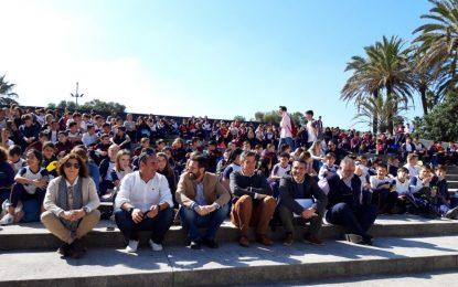El alcalde participa en la celebración del Día provincial de la Escuela Católica celebrado en el Parque Princesa Sofía