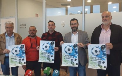 """Presentado el I Torneo de Futbol Base """"Ciudad de La Línea"""" que  permitirá la visita a la ciudad de más de 1.200 deportistas"""