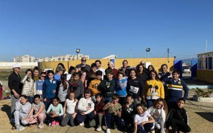 Vidal acompaña a los alumnos que han iniciado la Oferta Educativa Municipal en materias deportivas