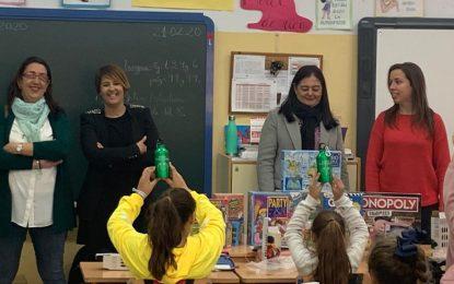 """El colegio Buenos Aires recibe el premio escolar 'Nuestra ciudad limpia"""" del Plan municipal de Infancia y Familia"""