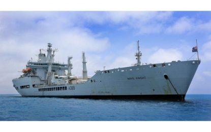 El buque de aprovisionamiento rápido Wave Knight de la Real Flota Auxiliar británica llegará el sábado a Gibraltar para una visita de soporte logístico de rutina