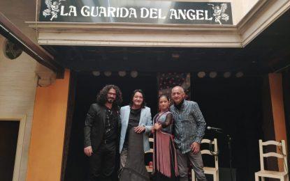Actuación espectacular de Marián'La Terremoto' en la Guarida del Ángel, en Jerez