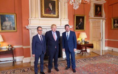 Una delegación de Gibraltar encabezada por el Ministro Principal acude a reuniones al más alto nivel con el Primer Ministro y funcionarios británicos en Londres