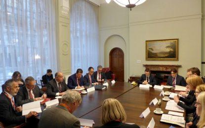 El Consejo Ministerial Conjunto entre Reino Unido y Gibraltar se reúne para abordar el COVID-19 y las negociaciones con la UE y demuestra una vez su valor como punto de contacto oficial