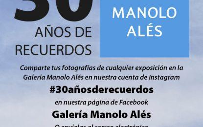 #30AñosdeRecuerdos conmemora el trigésimo aniversario de la Galería Municipal Manolo Alés