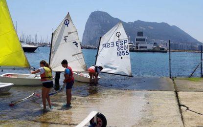Gran expectación ante la Regata del Provincial de Optimist, Málaga-Campo de Gibraltar los días 7 y 8 Marz en el Real Club Naútico de La Línea