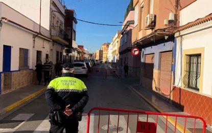 """Satisfacción entre los padres de alumnos tras el inicio hoy del proyecto """"Caminos Seguros Escolares"""" en el CEIP Gibraltar"""