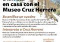 El Museo Cruz Herrera propone participar desde casa con escenificaciones e interpretaciones de los cuadros del pintor linense
