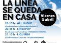 Juventud promueve el concierto on line de las bandas linenses All in one, Líneapop y Liquirbá