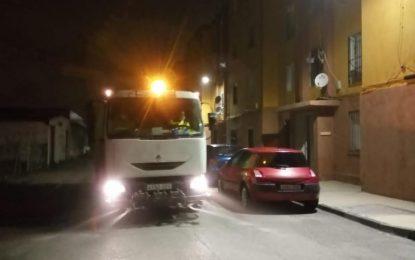 Limpieza inicia con trabajos nocturnos la segunda fase del plan de desinfección de toda la ciudad