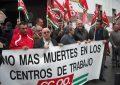 CCOO alerta sobre los altos índices de siniestralidad laboral en la comarca