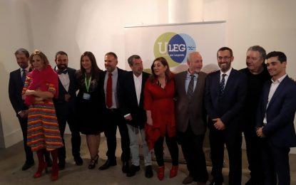 Juan Franco ha recibido esta tarde en la localidad madrileña de Leganés el premio al Independiente del año