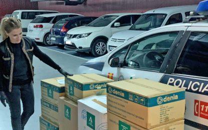 La Junta reparte 14.740 mascarillas para los trabajadores de ayuda a domicilio de la provincia