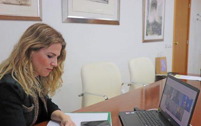 Ana Mestre informa en la reunión provincial del CECOR de las últimas actuaciones realizadas por la Junta