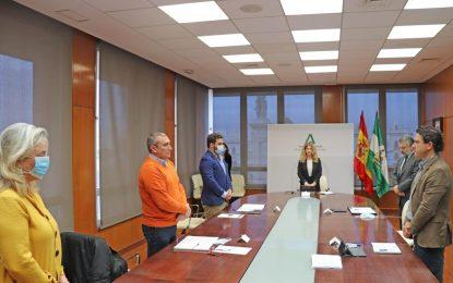 La Junta de Andalucía retoma actuaciones pendientes en la provincia antes del inicio del Estado de Alarma