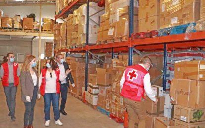 Ana Mestre resalta la importancia de organizaciones como Cruz Roja en la crisis del Covid-19