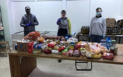 La Coordinadora Despierta pide donación de alimentos para familias necesitadas