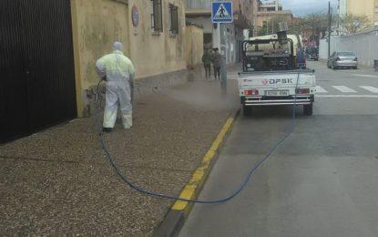 Limpieza se emplea a fondo en  la desinfección de zonas especialmente visitadas por menores de edad