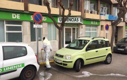 Limpieza ha proseguido hoy con su tercera semana consecutiva de trabajos de desinfección por toda la ciudad