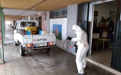"""Limpieza acomete la desinfección de las dependencias de la Asociación de Mujeres Gitanas """"Nakera Romí"""""""