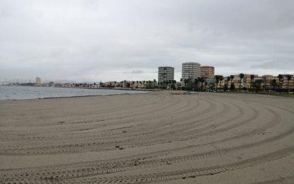 Una nueva sección de la web municipal informa diariamente del aforo y el estado de las playas linenses