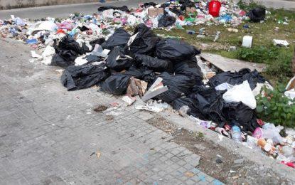 Limpieza y Arcgisa denuncian la conducta incívica de vecinos de Mirasierra ante los reiterados depósitos de basura en la vía pública