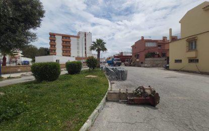Esta mañana se ha iniciado el asfaltado de la calle Doctor Gómez Ulla incluida en el V Plan