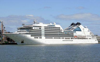 Escalas técnicas de los cruceros 'Veendam', 'Seabourn Ovation', 'Seabourn Encore' y 'Seabourn Quest'