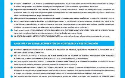 """Sanidad solicita a los ciudadanos el cumplimiento de las medidas higiénico-sanitarias para evitar un repunte de la pandemia ante el inicio de la Fase 0 de """"desescalada"""""""