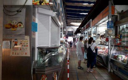 El Ayuntamiento acomete mejoras en materia de seguridad en el Mercado de La Concepción