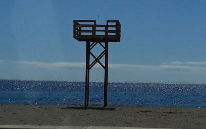 Los socorristas han realizado diez rescates y 112 curas desde el inicio de la temporada de playas