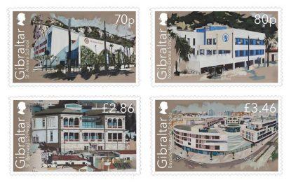Gibraltar celebra la apertura de sus nuevos colegios con una serie de sellos