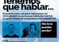 """Yeyo Argüez y Carolina Santos participarán el lunes en """"Tenemos que hablar"""""""