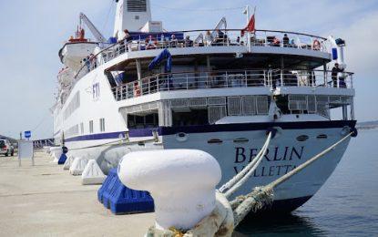 El crucero 'Berlin' efectuará una escala técnica siguiendo todas las medidas de seguridad necesarias