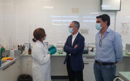 Lozano visita la Estación Depuradora de Aguas Residuales de Algeciras