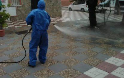 Limpieza realiza nuevas desinfecciones en paseos marítimos y polígonos industriales