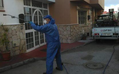 Limpieza desarrolla una nueva fase de desinfección por toda la ciudad