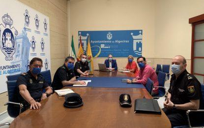 La subdelegada participa en la reunión de seguridad de Algeciras de cara a la PevAU