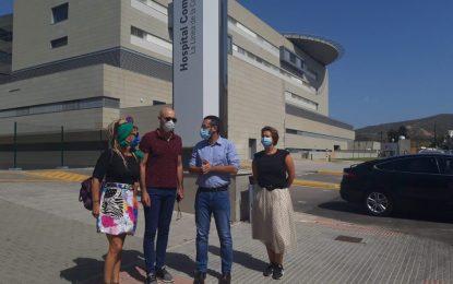 """Inaugurado el """"itinerario seguro"""" desde el Centro Polivalente de Fegadi hasta el hospital comarcal"""