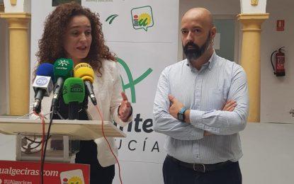 Nieto reclama una solución definitiva para las sedes judiciales de La Línea