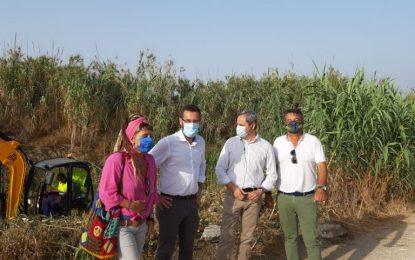 Ejecutados trabajos de limpieza de todos los canales y arroyos del Zabal