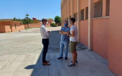 Educación y Mantenimiento Urbano colaboran en la mejora de los centros educativos